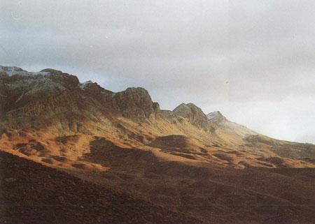 نمایی از کوه بینالود